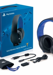 Headset Gold - Ps4