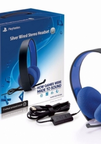 Headset Silver - Ps4